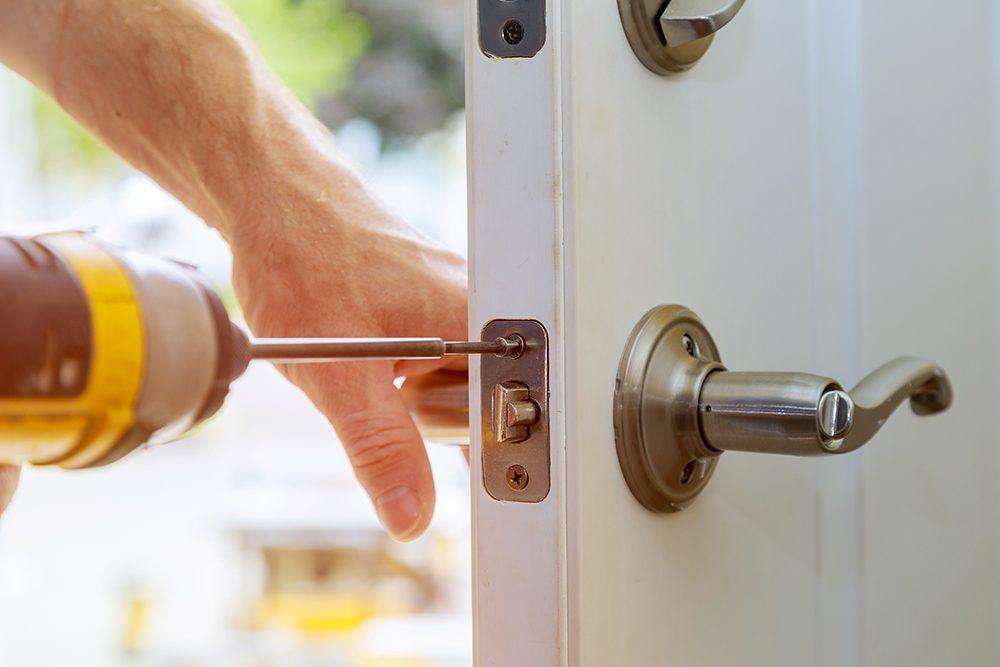 sécurité porte d'entrée