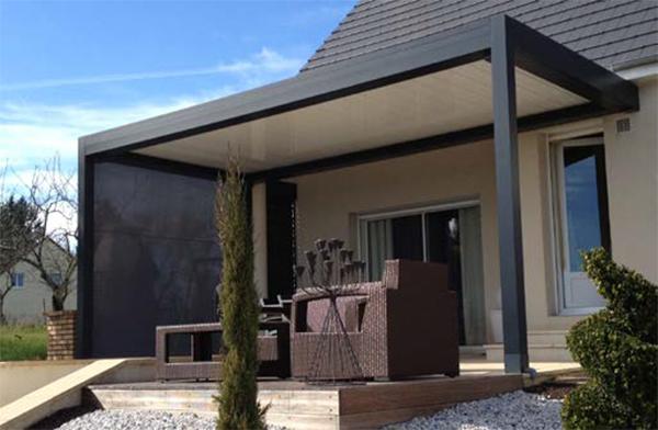 Pergola bioclimatique terrasse