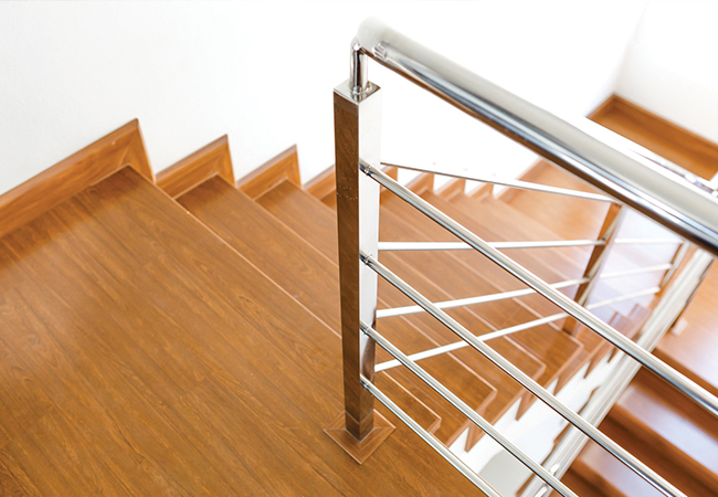 Protéger escalier bois